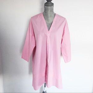 Zara Pink Tunic, 3/4 length sleeves